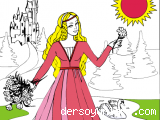 Prenses Boyama Online Egitici Ogretici Bilgilendirici Ders Oyunlari
